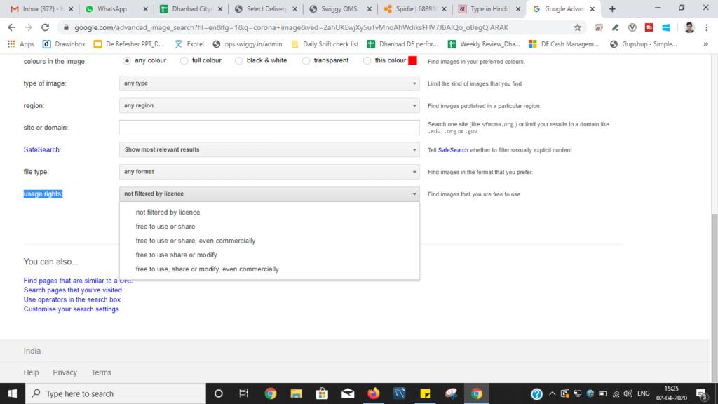 Google se non copyrighted free images kaise download kare in hindi|गूगल से नॉन कॉपीराइटेड फ्री इमेजेज कैसे डाउनलोड करे