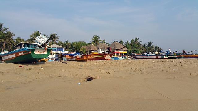 Pondichery beach,pondicheery beach